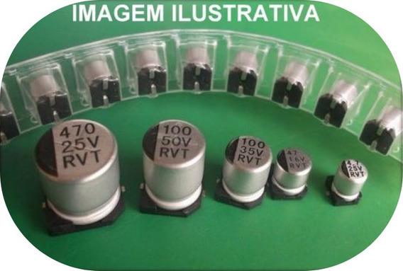 Kit C/ 20 Unidades Capacitor Eletrolitico Smd 10uf 16v 5%