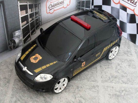 Viatura Fiat Palio Polícia Federal