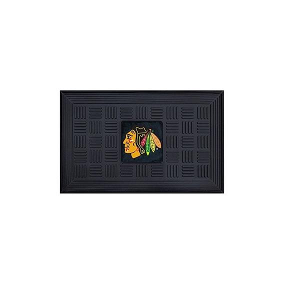 Fanmats Nhl Chicago Blackhawks Vinyl Puerta Mat