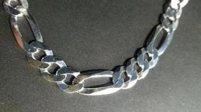 Corrente Grumet - Prata 925 - 80cm Elos 3x1 10mm + Pulseira