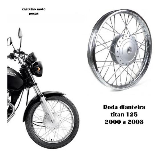 Roda Montada Moto Dianteira Titan-fan 125