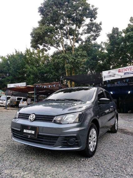 Volkswagen Gol Trendline 1.6 Cc 44.794 Km 2018 Mt Gris Plati