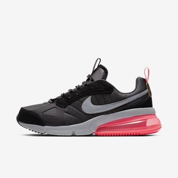 Tênis Masculino Nike Air Max 270 Futura Preto/rosa Gel Bolha