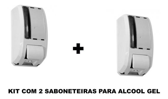 Suporte Para Álcool Em Gel 1000ml Kit Com 2 Unidades