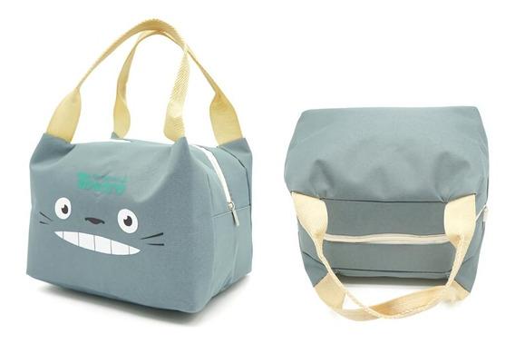 Lochera Termica, Bolsa Almuerzo Totoro Anime Gris