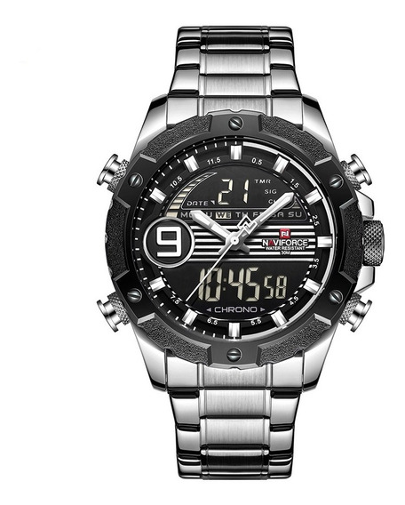 Relógio Masculino Naviforce Militar Esportivo Original