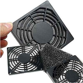 Rejilla Cooler Plástica Filtro Lavable 4 Pulgadas 12x12cm