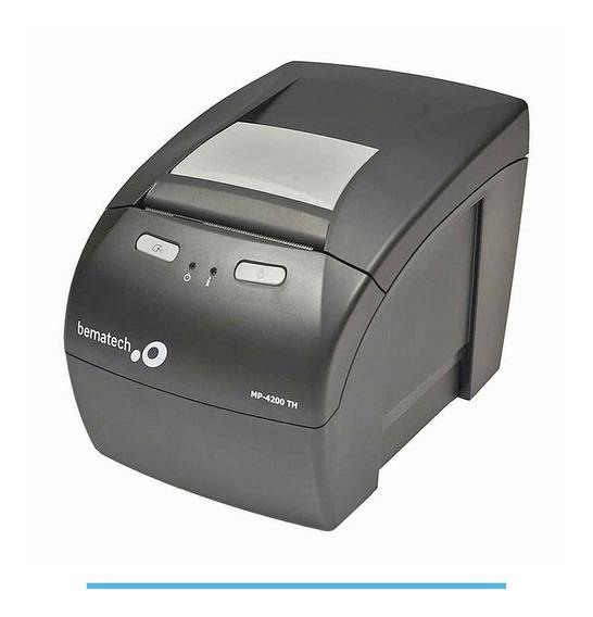 Impressora Térmica Bematech Mp-4200 Th Usb E Ethernet (rede)