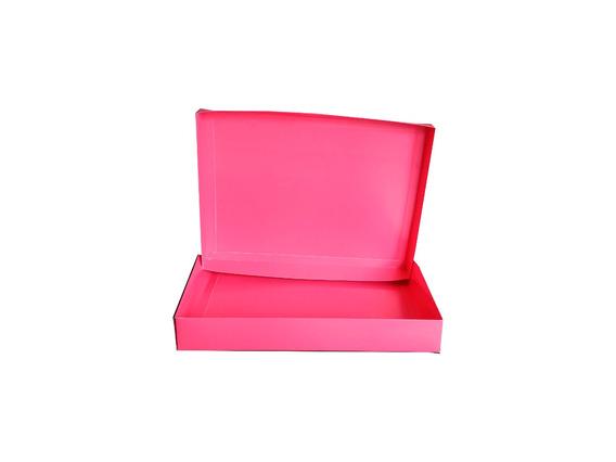 Caixas Cartão 300g C/tampa Lisas 35x25x6cm - Pct C/500