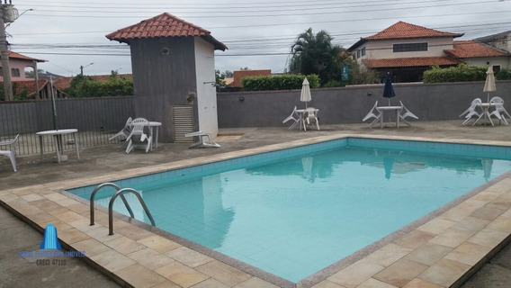 Apartamento A Venda No Bairro Parque Hotel Em Araruama - Rj. - 446-1