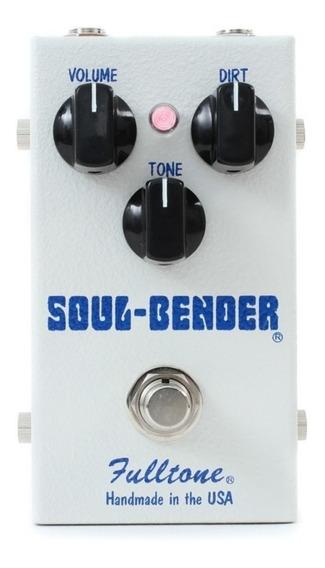 Pedal Overdirve/fuzz Fulltone Soulbender Usa