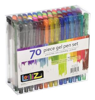Plumones De Gel Lolliz® 70 Plumas De Gel Set De 70