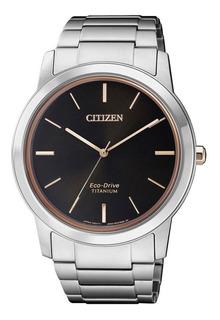 Reloj Citizen Aw2024-81e Titanium Eco Drive Agente Oficial