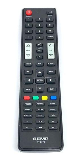 Controle Remoto Tv Semp Ct-6770 40l1500 48l2400 Original