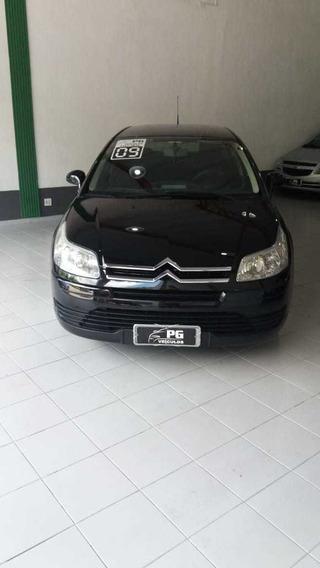 Citroen C4 Pallas Glx 2.0 Gasolina Preto 2009 5p