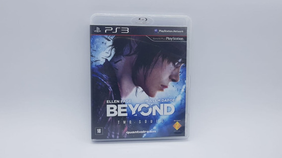 Beyond Two Souls - Ps3 - Mídia Fisica Em Cd