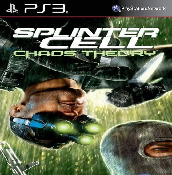 Tom Clancys Chaos Theory Hd - Ps3 Psn Play 3