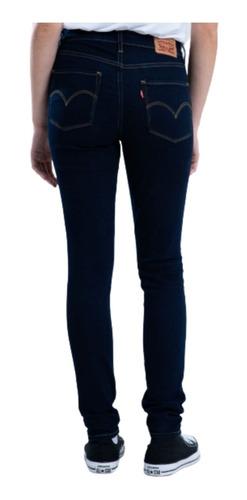 Jean Levi's Mujer 721 High Rise Skinny Azul Marino
