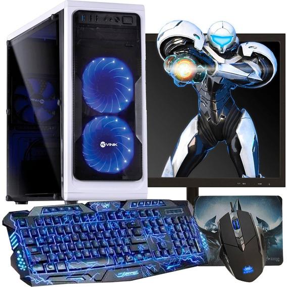 Pc Gamer I5 + Monitor Completo 8gb Hd 1tb Geforce Promoção