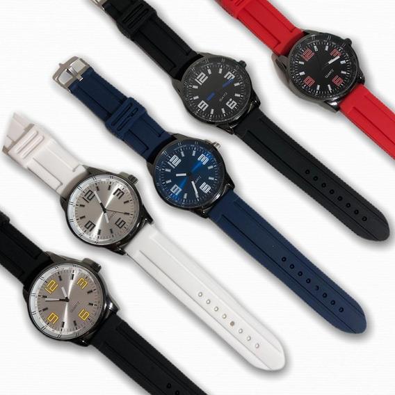 Kit 12 Relógios Masculinos + Baterias + Revenda Barato