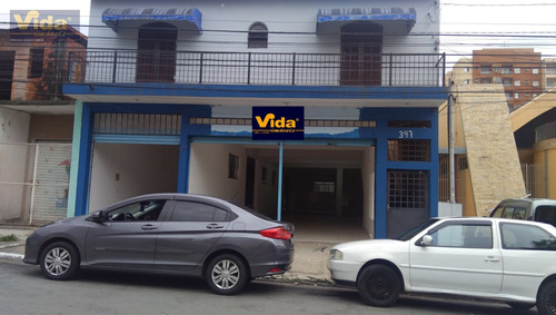 Imagem 1 de 6 de Salão Comercial Para Locação Em Quitaúna  -  Osasco - 42183