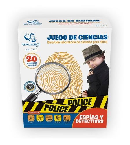Juego De Ciencia Espias Y Detectives Galileo Jc 007 Edu Full