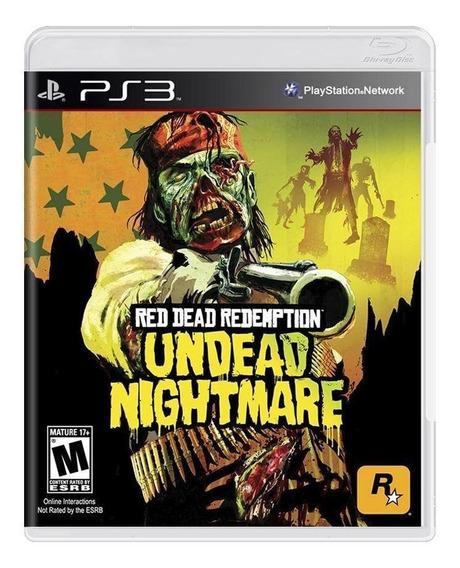 Jogo Americano Red Dead Redemption Undead Nightmare Para Ps3