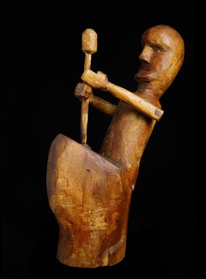 Escultura De Kleber Leonardo, Ex-discípulo De Mestre Fida