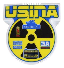 Carregador Usina Bi-volt Automático Nauticline 3a 12v A 14v