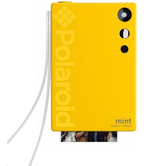 Câmera Polaroid Mint Shoot + Print - Yellow Polsp02y