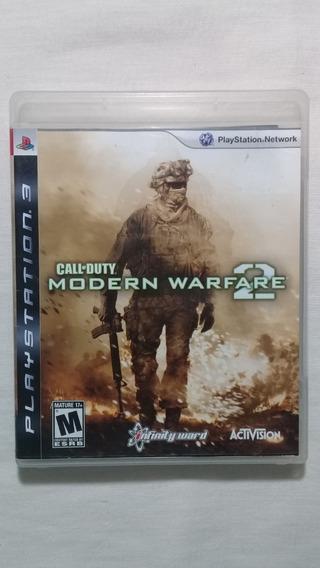 Call Of Duty Modern Warfare 2 Ps3 Completo Americano