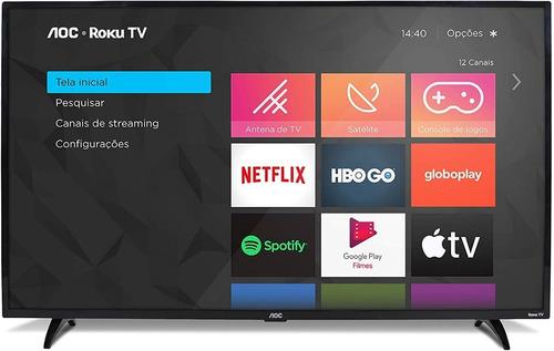 Smart Tv Aoc Roku 32'' Hd 32s5195/78g Hdmi Netflix E Youtube