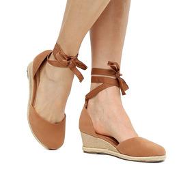 bc1750b8cb Sandalia Espadrille Via Uno - Sapatos no Mercado Livre Brasil