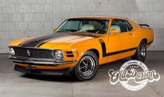 Mustang Boss 351 70 Jogo Completo Em Adesivo 3m