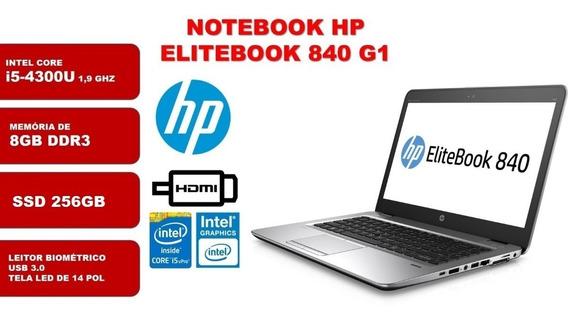 Notebook Hp Elitebook 840 G1 Core I5 - 5°geração 8gb 256ssd