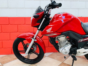 Honda Cg 160 Fan - 2017 - Vermelha - Km 10.000 - Financiamos