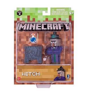 Figura Minecraft Witch Pack