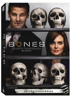 Box Dvd Bones 4ª Temporada (7 Dvd