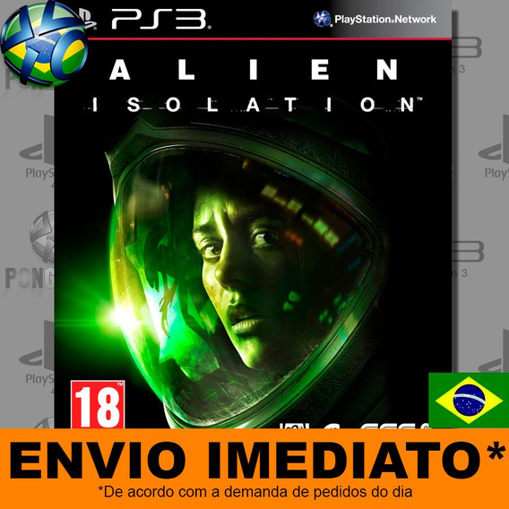 Jogo Alien Isolation Ps3 Psn Play 3 Dublado Português