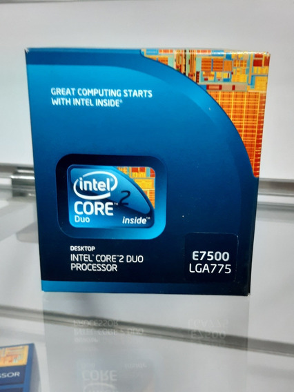 Procesador Intel Core 2 Duo E7500 Lga 775