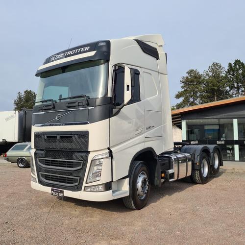 Imagem 1 de 15 de Volvo Fh500 Globetrotter 6x2 Cavalo Trucado 2020 Fh 500