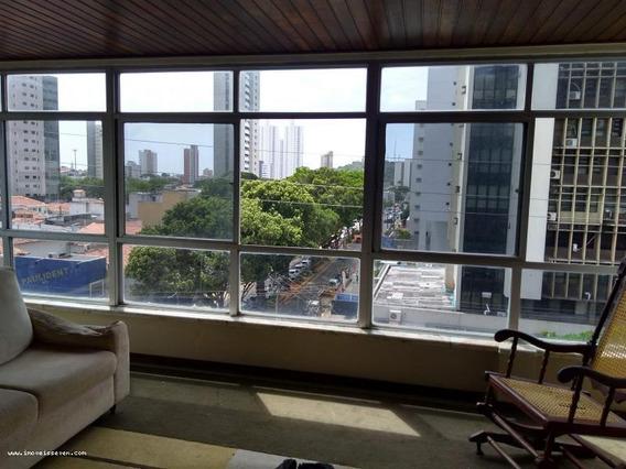 Apartamento Para Venda Em Natal, Petrópolis, 5 Dormitórios, 2 Suítes, 4 Banheiros, 2 Vagas - _1-1088651