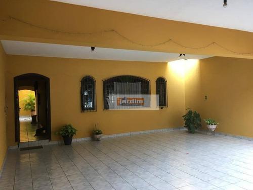 Sobrado Com 3 Dormitórios À Venda, 240 M² - Jardim Santa Rita - Diadema/sp - So2444
