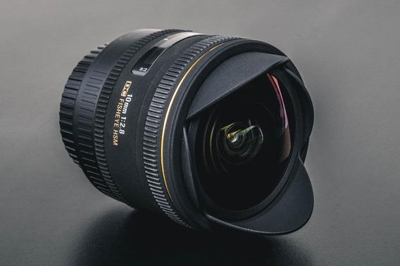 Lente Sigma Olho De Peixe 10mm