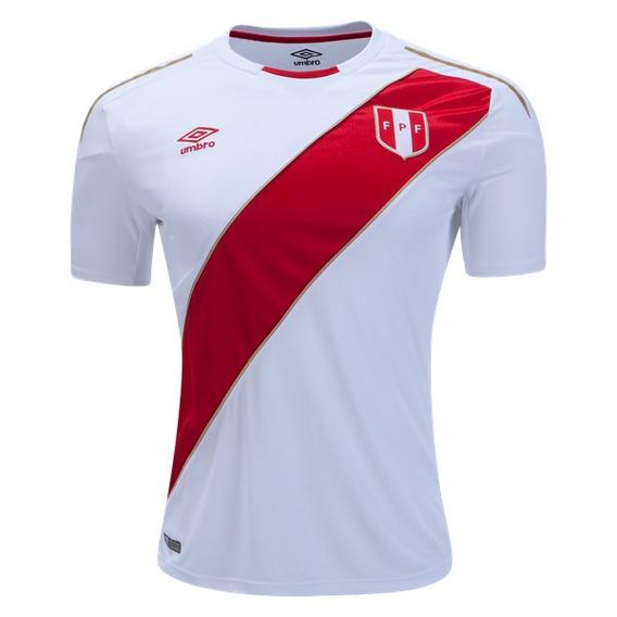 Camiseta Selección Perú #10 Farfan (titular Mundial 2018)