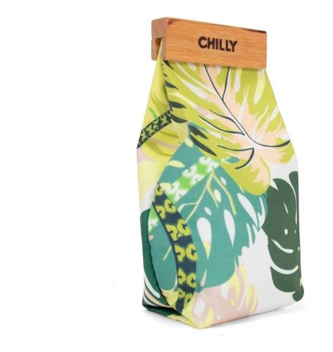 Imagen 1 de 8 de Yerbera De Tela 500 Grs Diseño Selva Chilly