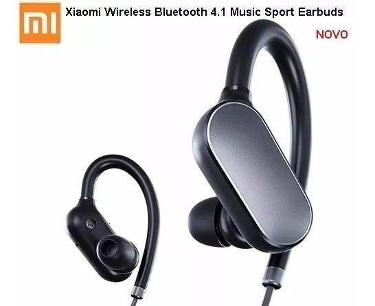 Fone De Ouvido Xiaomi Sem Fio Bluetooth 4.1 Music Sport