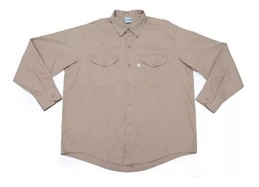 Camisa Para Trabajo M.larga Talle Especial Extra Grande58