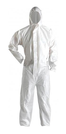 Mameluco Laminado Impermeable Blanco 60 Grs - Fact A/b