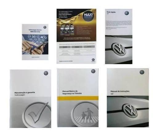 Manual Do Proprietario Volkswagen Up! Original Vw Completo